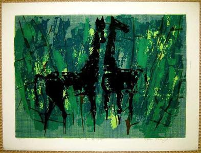 Kasamatsu Shiro: Horses - Japanese Art Open Database