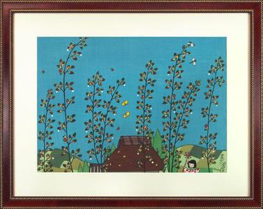 Taniuchi Rokuro: After Rain — 雨あがり - Japanese Art Open Database