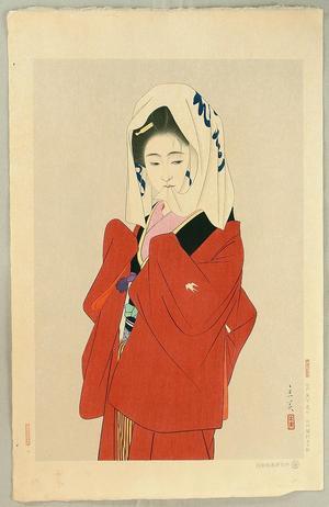 Tatsumi Shimura: Maihime (Dancing Girl) - Japanese Art Open Database