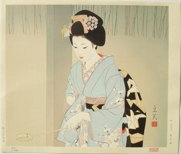 Tatsumi Shimura: Hatsumode — 初詣 - Japanese Art Open Database