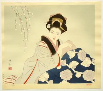 Tatsumi Shimura: Kotatsu- Japanese warmer - Japanese Art Open Database
