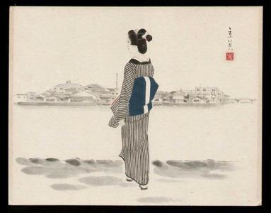 Tatsumi Shimura: Ookawabata - Japanese Art Open Database