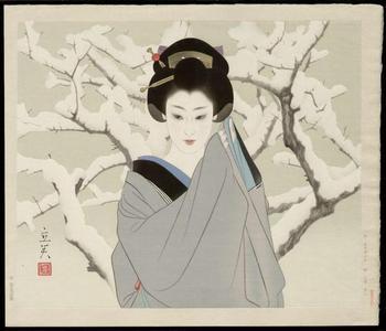 Tatsumi Shimura: Snow- - Japanese Art Open Database
