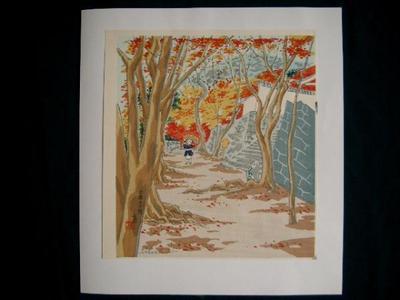 Tokuriki Tomikichiro: Oohara Sanzen-In - Japanese Art Open Database