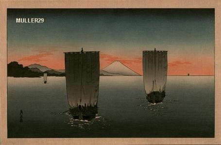 富岡英泉: Homeward Bound - Japanese Art Open Database