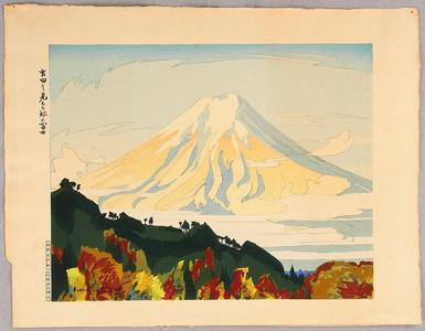 石川寅治: Mt Fuji Seen from Yoshida - Japanese Art Open Database
