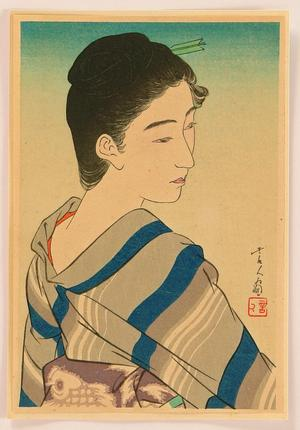 鳥居言人: Early summer fine weather — 五月晴 - Japanese Art Open Database