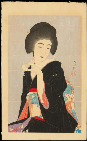 Torii Kotondo: Tipsy — ほろ酔 - Japanese Art Open Database