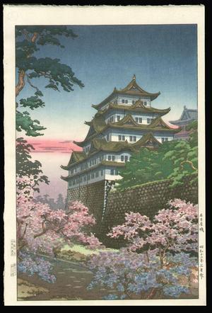 風光礼讃: Nagoya Castle - Japanese Art Open Database