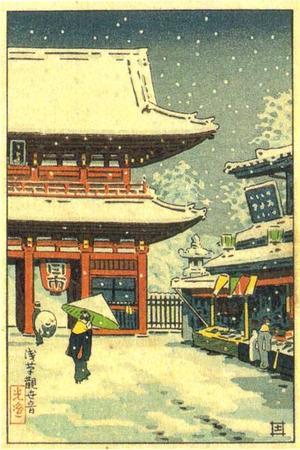 風光礼讃: Asakusa Kanzeme - Japanese Art Open Database