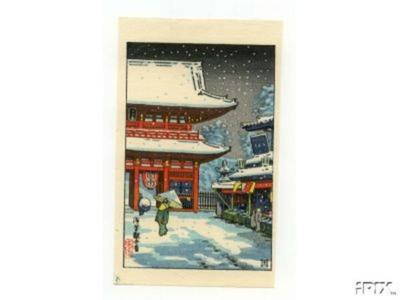 風光礼讃: Asakusa Kanzeme - Japanese Art Open Database
