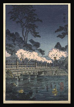 Tsuchiya Koitsu: Benkei Bridge - Japanese Art Open Database