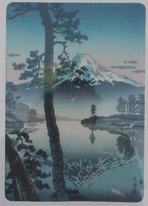 風光礼讃: Fuji from Tago Bay - Japanese Art Open Database