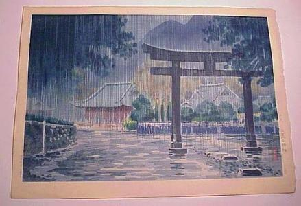 Tsuchiya Koitsu: Nikko Futarasan Shrine — 日光 二荒山神社 - Japanese Art Open Database