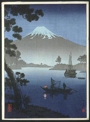Tsuchiya Koitsu: Tago Bay (Shizuoka) - Japanese Art Open Database
