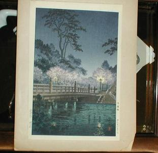 風光礼讃: Benkei Bridge — 弁慶橋 - Japanese Art Open Database