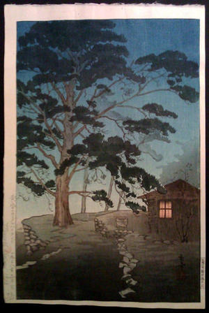 Tsuruoka Kakunen: Carmel Highland- California - Japanese Art Open Database