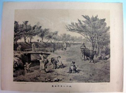 Unknown: True View of Bushuu Koganei — 武州小金井真景 - Japanese Art Open Database