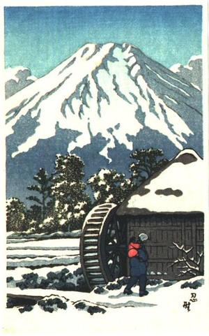 Unknown: Waterwheel - Japanese Art Open Database