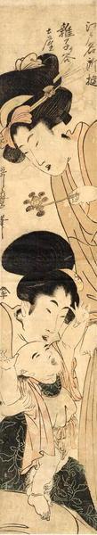 Kitagawa Utamaro: The Infant Danjuro - Japanese Art Open Database