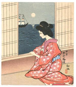 Wada Sanzo: Bijin - Japanese Art Open Database