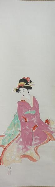 Watanabe Ikuharu: A Woman - Japanese Art Open Database