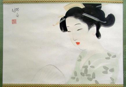 Watanabe Ikuharu: Evening Cool — 涼夕 - Japanese Art Open Database