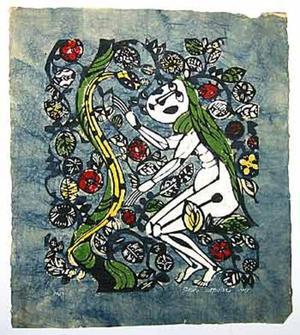 Watanabe Sadao: Eve - Japanese Art Open Database
