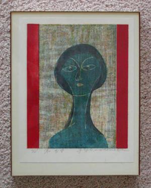 Watanabe Yuji: Unknown, face, portrait - Japanese Art Open Database
