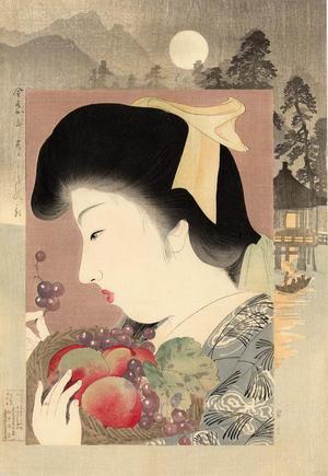山本昇雲: Unconcerned — すずしの顔 - Japanese Art Open Database