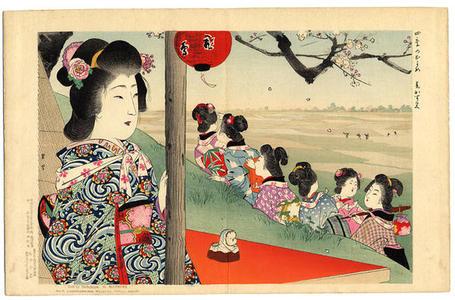Yamamoto Shoun: Spring - Japanese Art Open Database