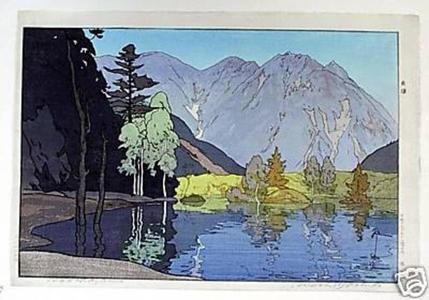 吉田博: Hotakayama- Hodakayama - Japanese Art Open Database