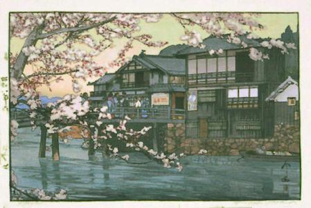 Yoshida Hiroshi: Hayase - Japanese Art Open Database