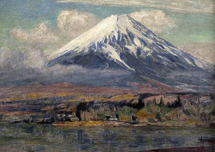Yoshida Hiroshi: Mt Fuji - Japanese Art Open Database