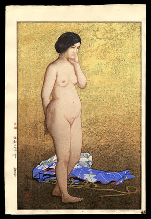 吉田博: Study of a Nude - Japanese Art Open Database