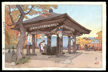 Yoshida Hiroshi: Utagahama - Japanese Art Open Database