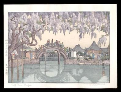 吉田遠志: Half Moon Bridge - Japanese Art Open Database