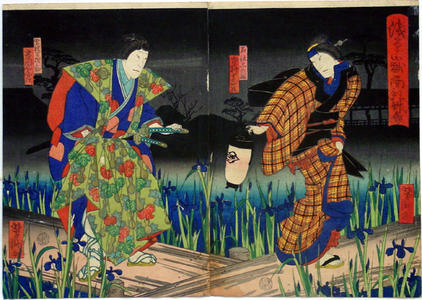 歌川芳滝: Unknown title - Japanese Art Open Database