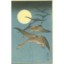 Akiyo: Ducks Flying - Japanese Art Open Database