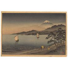 Akiyo: Mount Fuji from Lake Hakone - Japanese Art Open Database