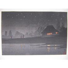 Akiyo: Night Scene - Japanese Art Open Database