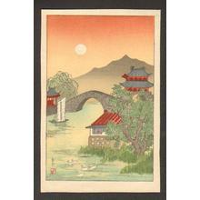Akiyo: Riverside Scene - Japanese Art Open Database