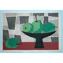 Amano Kunihiro: Apples — りんご - Japanese Art Open Database