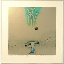 Amano Kunihiro: Morning Moon - Japanese Art Open Database