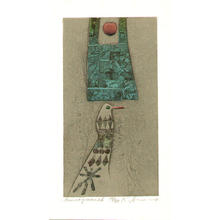 Amano Kunihiro: Morning Moon 26 - Japanese Art Open Database