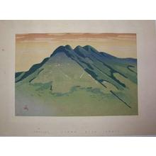 Asada Benji: Nyoigadake Peak — 如意ヶ嶽 - Japanese Art Open Database