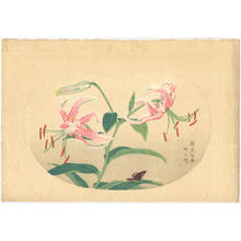 Fujishima Takeji: Tiger Lily - Japanese Art Open Database