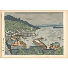 Fujishima Takeji: Shimonakai in the Setonaikai Strait — 瀬戸内海下中井 - Japanese Art Open Database