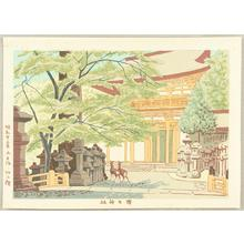 藤島武二: Kasuga Jinjya — 春日神社 - Japanese Art Open Database