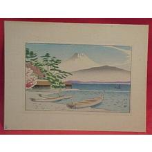 Fujishima Takeji: Taken from Izu Mito - Japanese Art Open Database